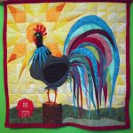 Rooster Wall Quilt