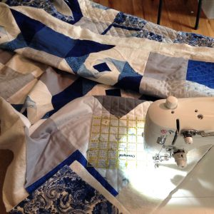 Quilting with Ruler