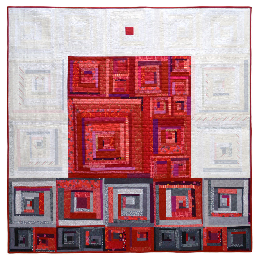 Root Chakra quilt