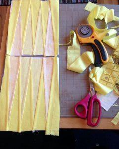solar plexus chakra quilt