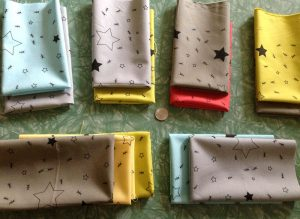 Ants in the Stars Hand Printed Fabric